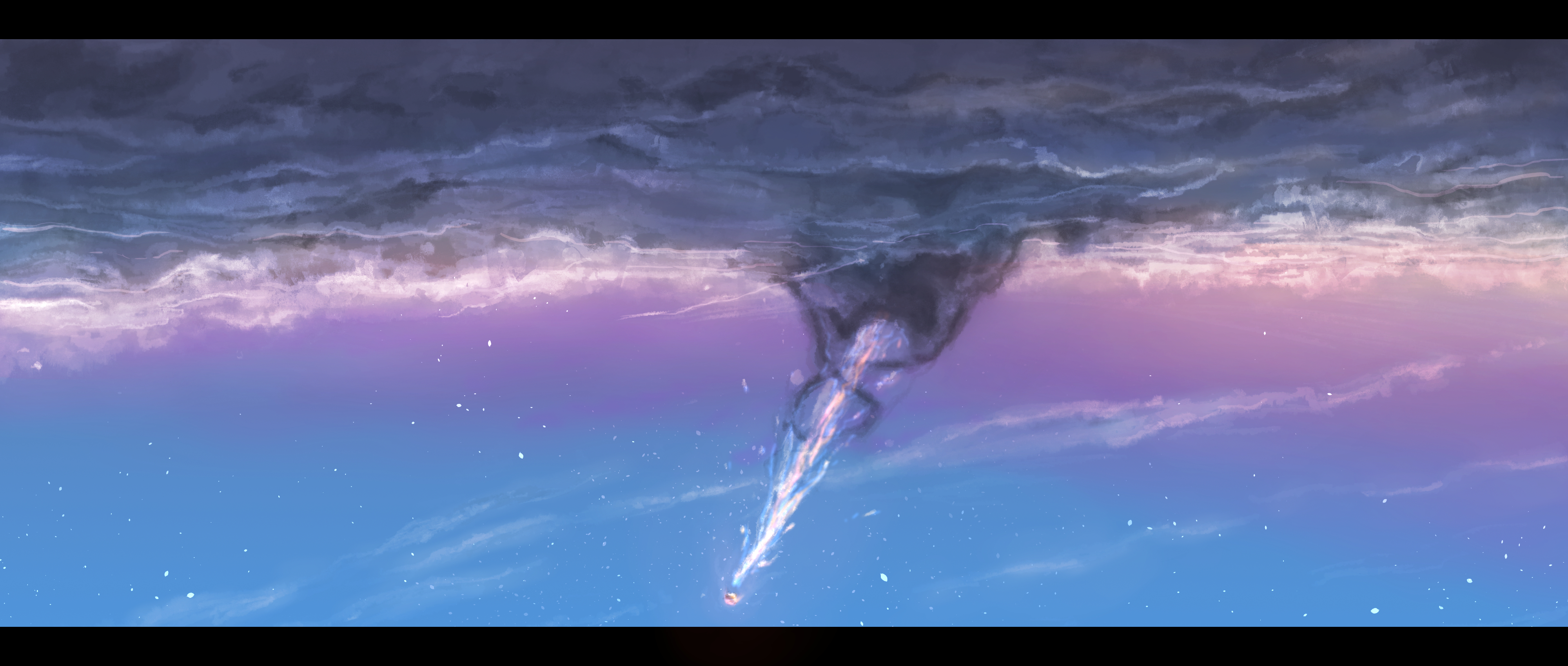Your Name Hd Wallpaper Background Image 4000x1700 Id