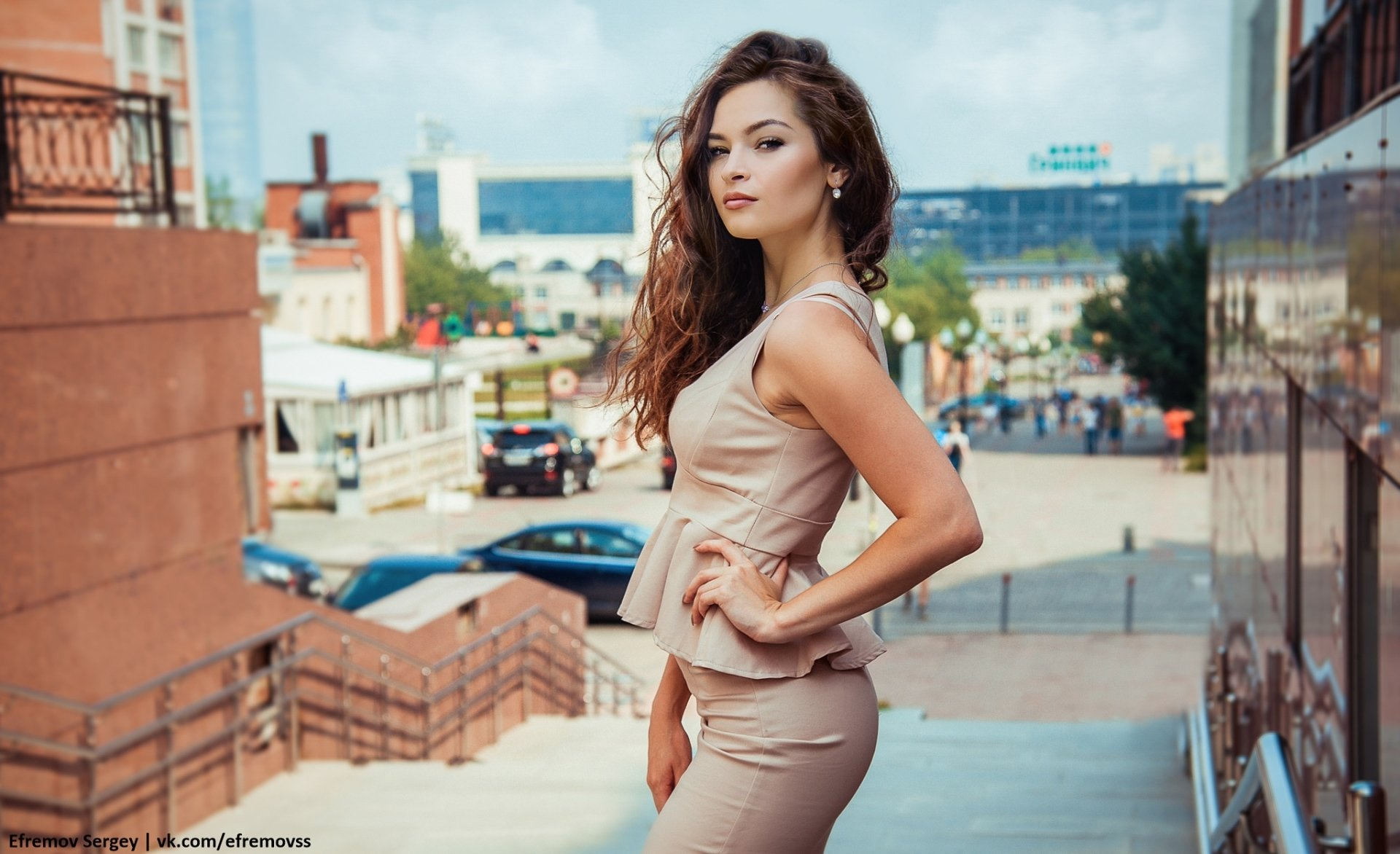 Women - Model  Woman Girl Brunette Depth Of Field Wallpaper