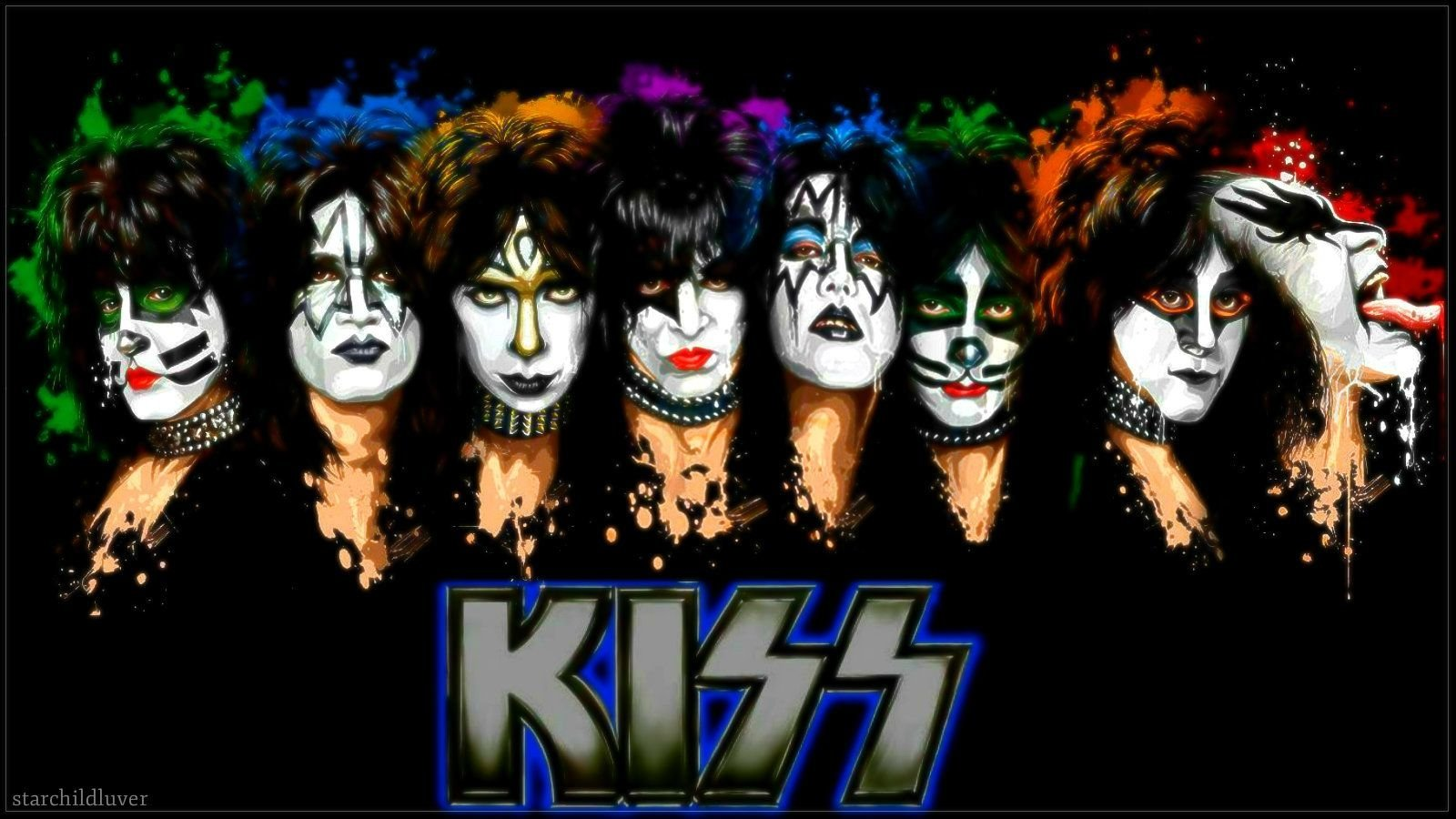 KISS Wallpaper and Background Image