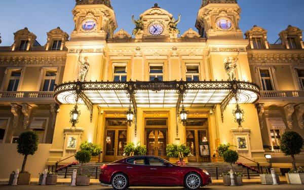 Vehicles Maserati Ghibli Maserati Red Car Luxury Car Car Casino HD Wallpaper | Background Image
