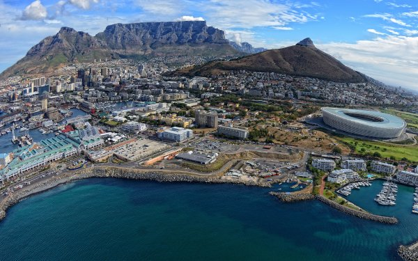 Man Made Cape Town Cities South Africa Cityscape HD Wallpaper   Background Image
