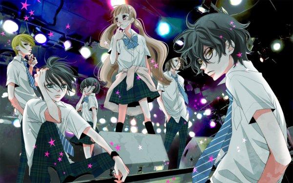 Anime Fukumenkei Noise Nino Arisugawa Kanade Yuzuriha Miou Suguri Momo Sakaki Yoshito Haruno Ayumi Kurose HD Wallpaper | Background Image