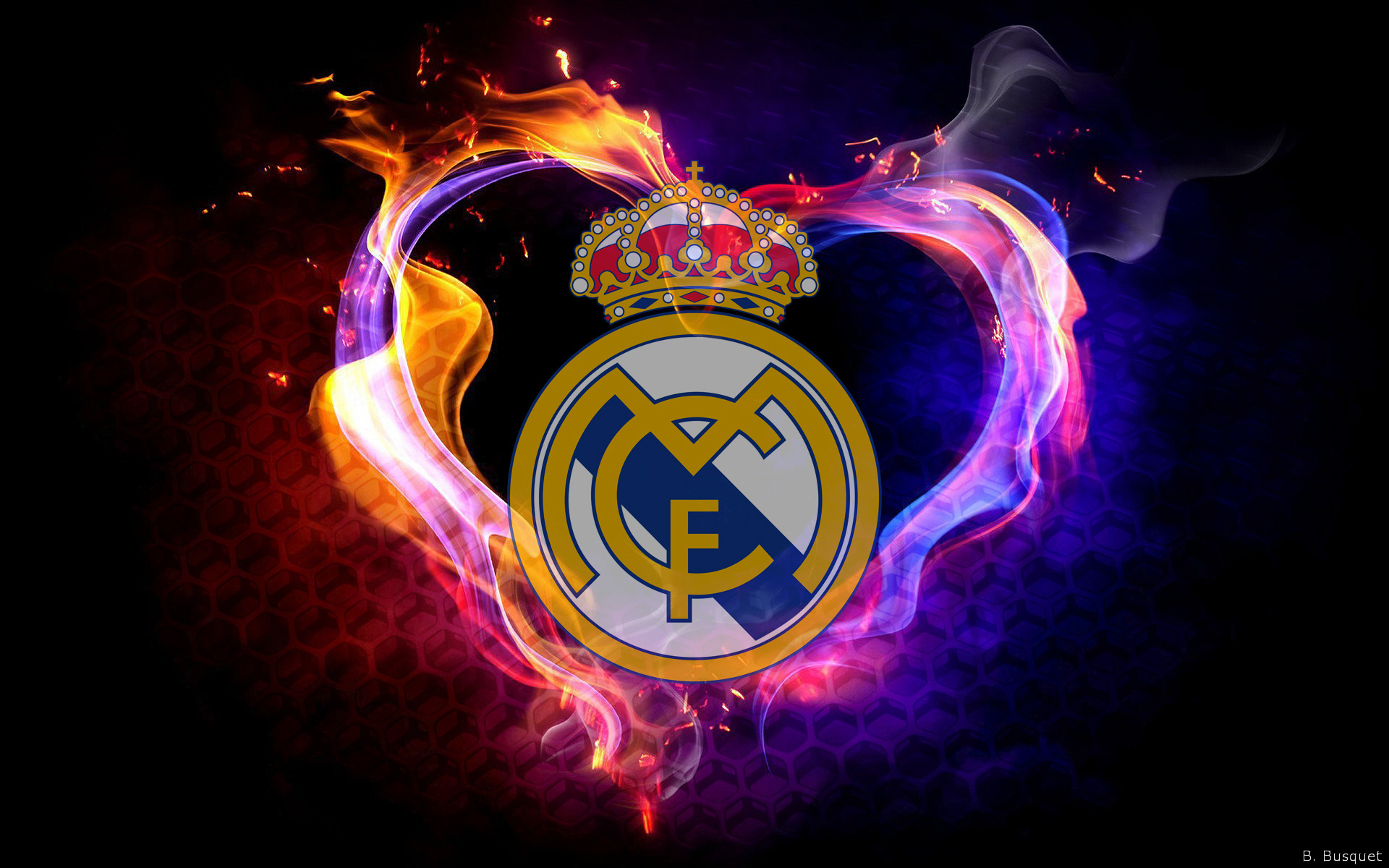 12 Real Madrid Logo Hd Wallpapers Background Images Wallpaper Abyss