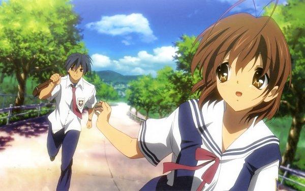 Anime Clannad Nagisa Furukawa Tomoya Okazaki HD Wallpaper | Background Image
