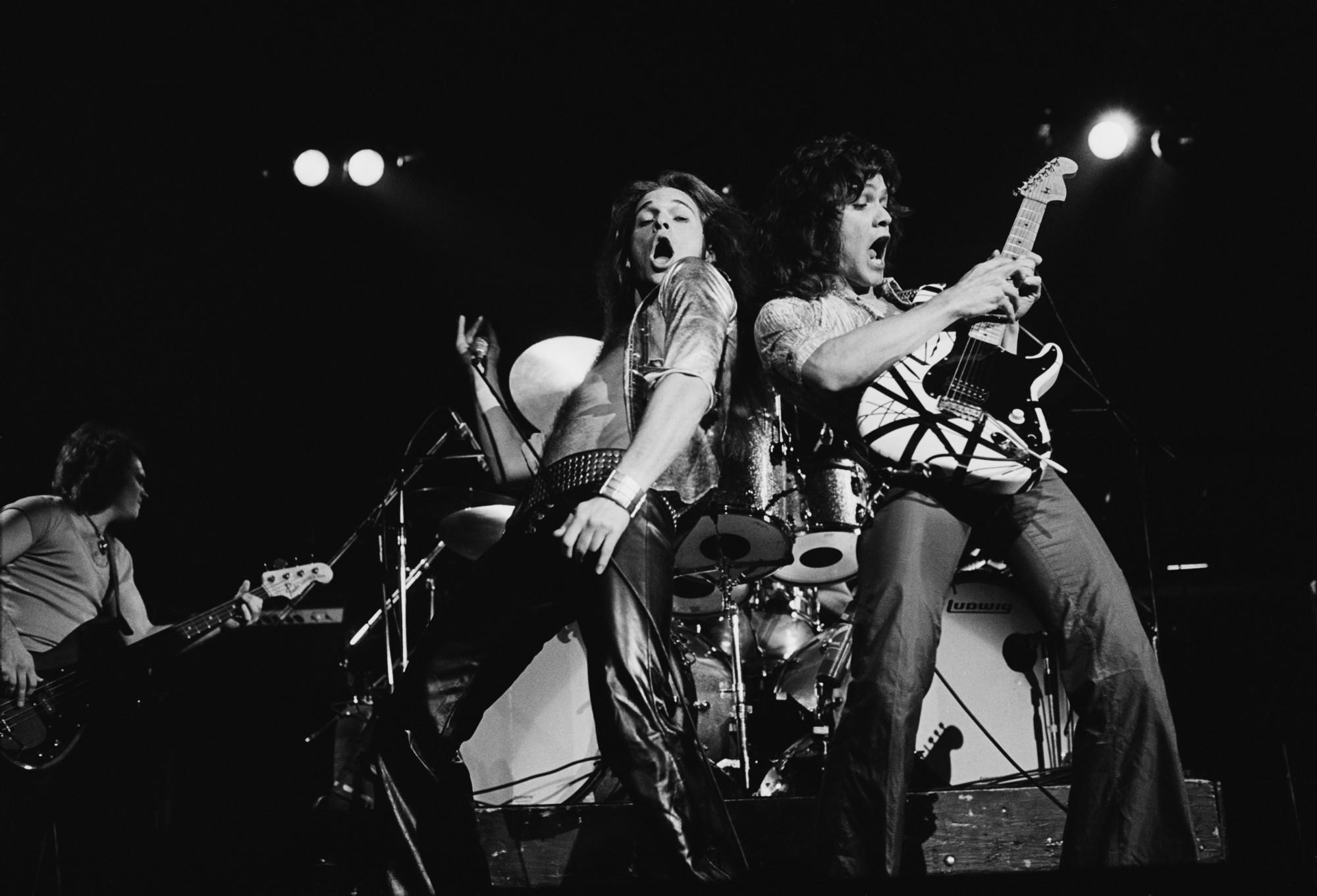 Resultado de imagen de Edward Van Halen by Ross Halfin