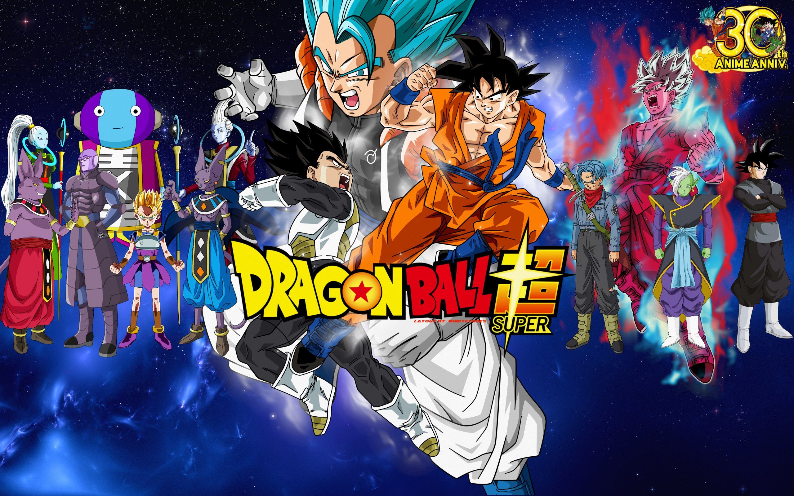 Dragon Ball Super HD Wallpaper