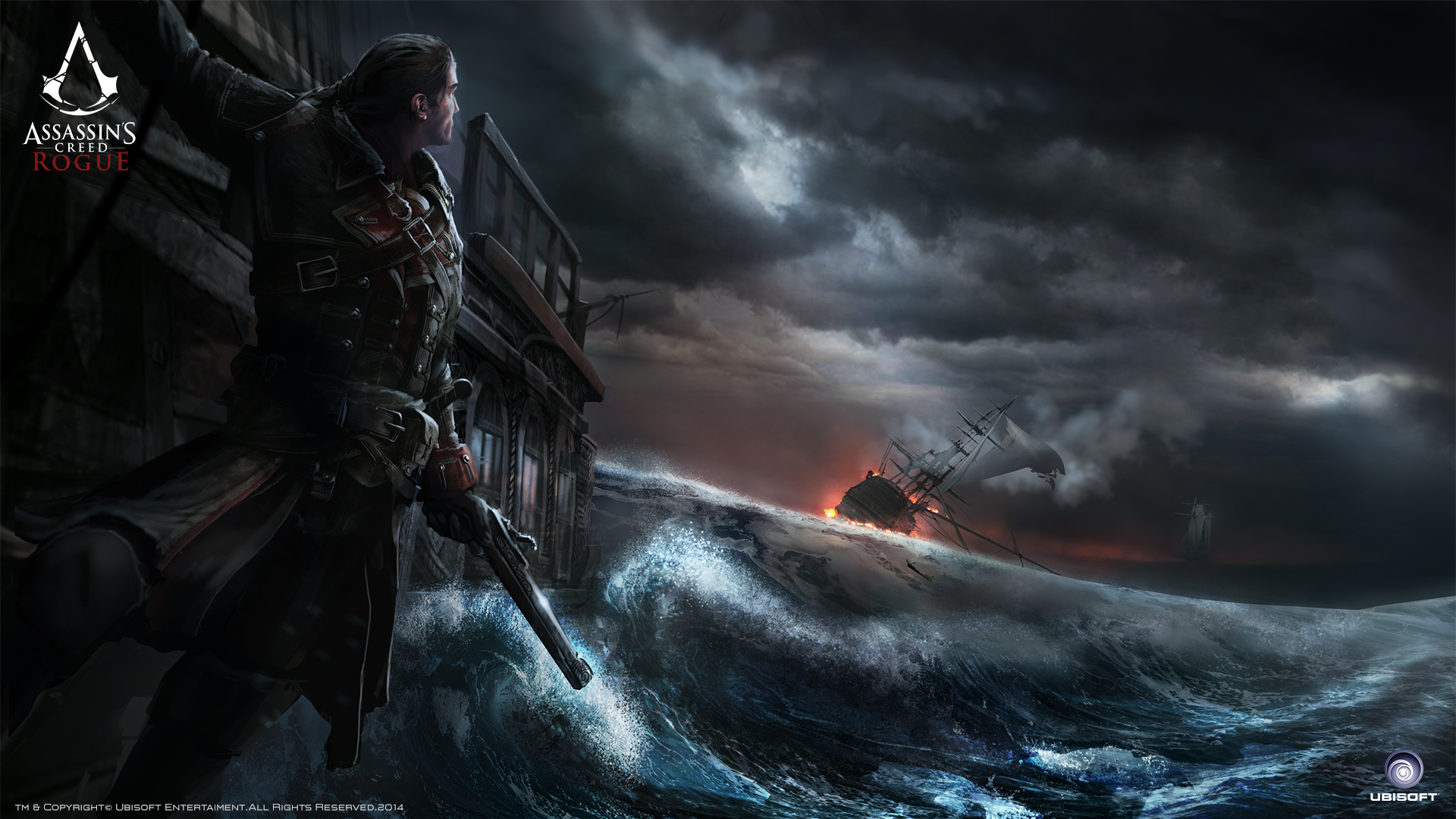 Assassin S Creed Rogue Hd Wallpaper Background Image 1920x1080