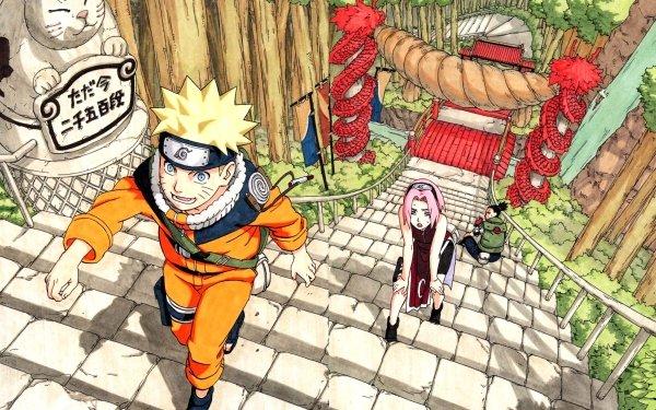 Anime Naruto Naruto Uzumaki Sakura Haruno Shikamaru Nara HD Wallpaper | Background Image