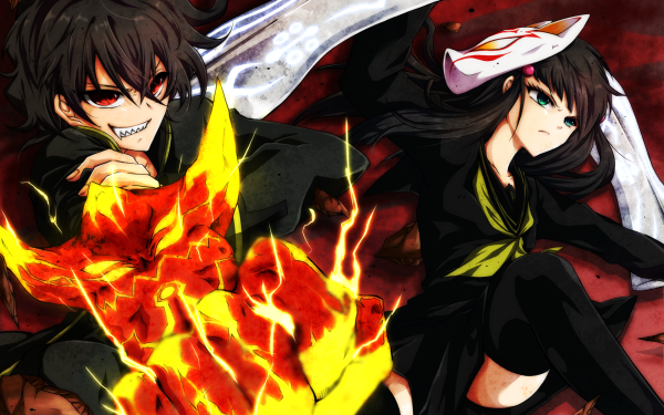 Anime Twin Star Exorcists HD Wallpaper | Background Image