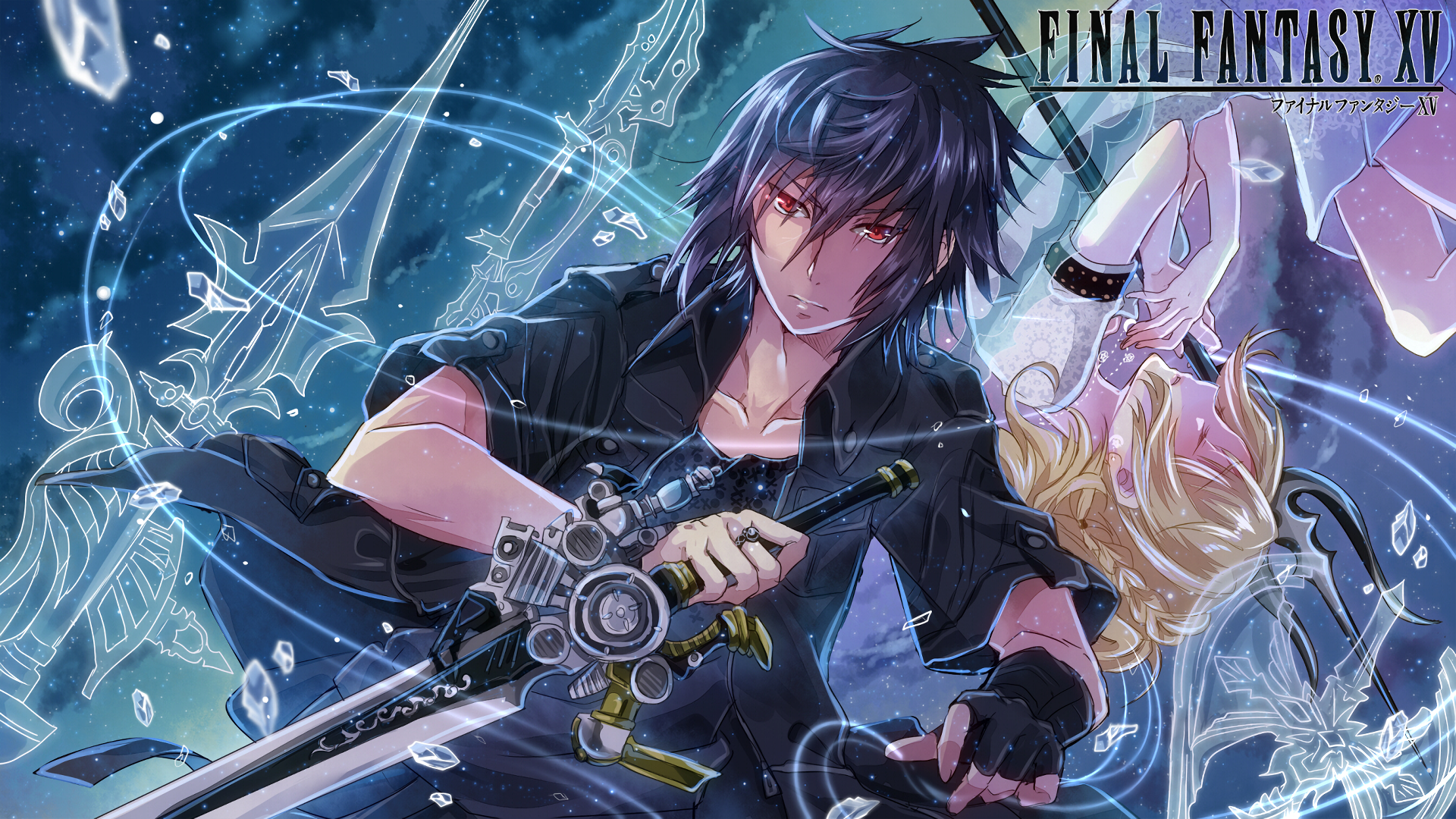 final fantasy xv full hd wallpaper and background