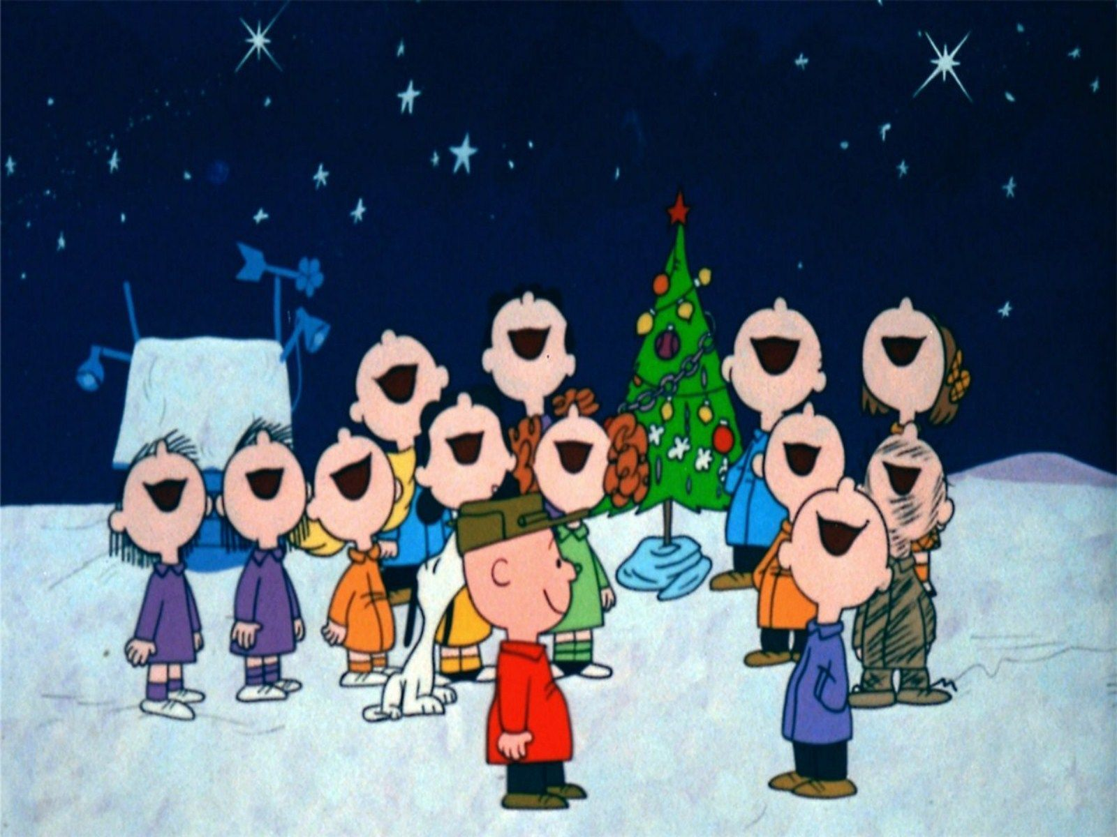 Charlie Brown Christmas Wallpaper And Hintergrund