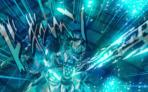 Anime Jojo's Bizarre Adventure Noriaki Kakyoin Jotaro Kujo Hierophant Green Star Platinum HD Wallpaper | Background Image