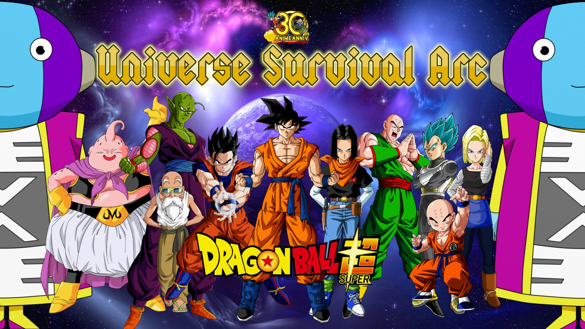 Universe Survival Arc Full HD Wallpaper And Background Image