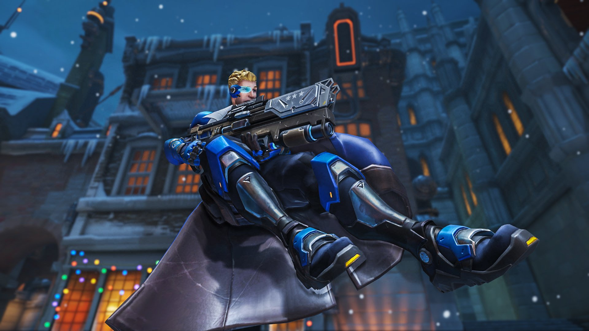 Soldier 76 HD Wallpaper | Background Image | 1920x1080 | ID