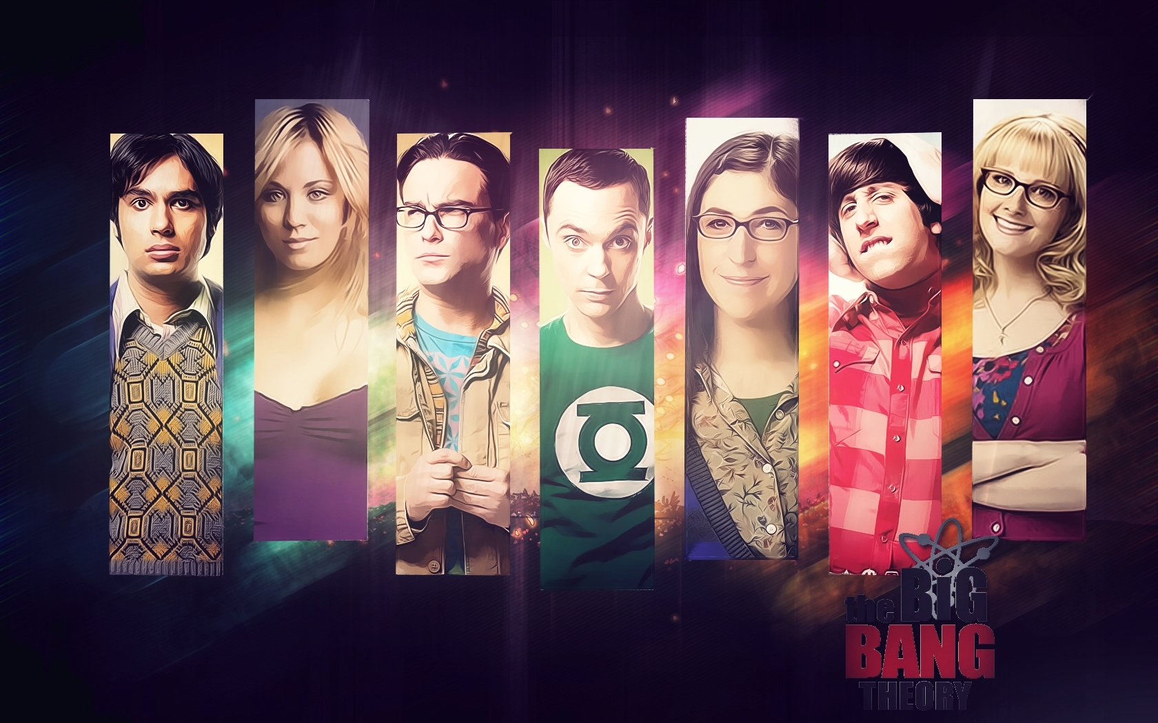 the big bang theory wallpaper and background image | 1680x1050 | id