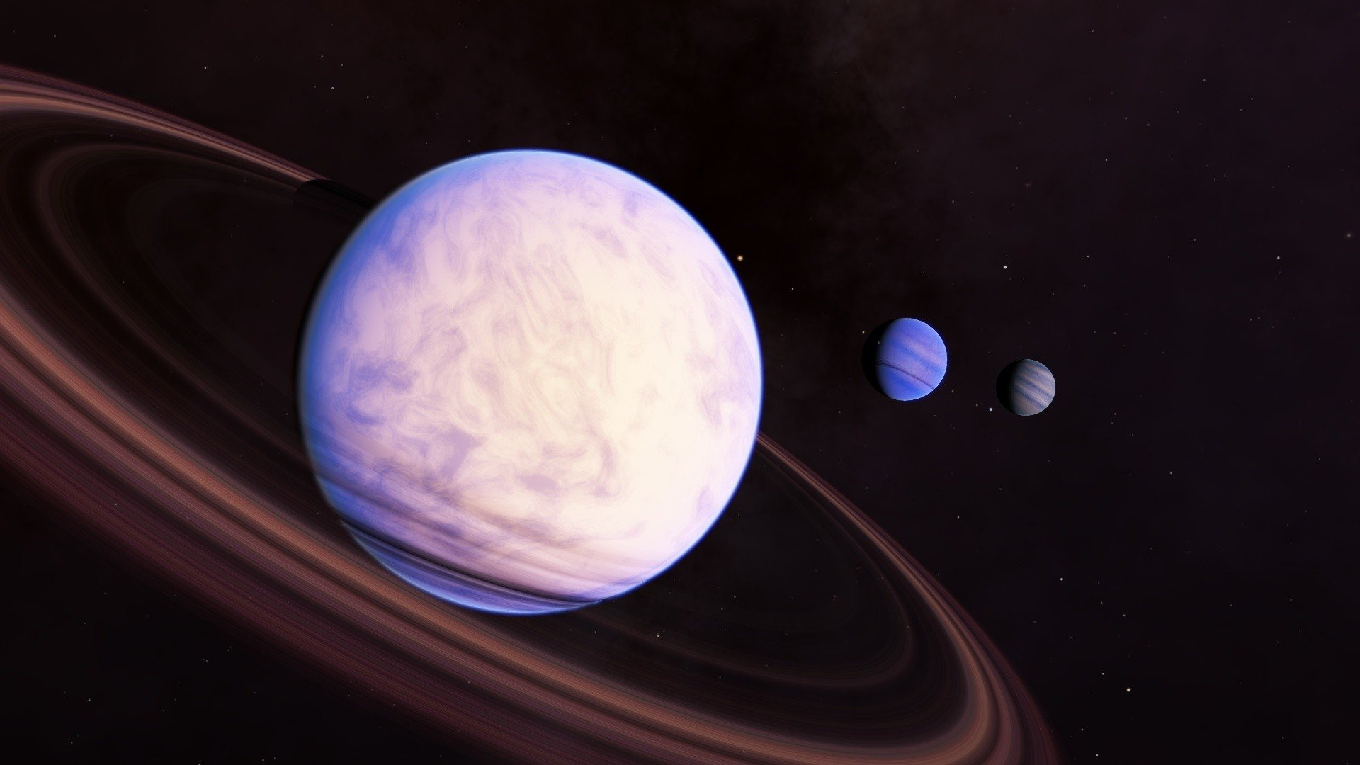 giant planets and their moons - photo #44
