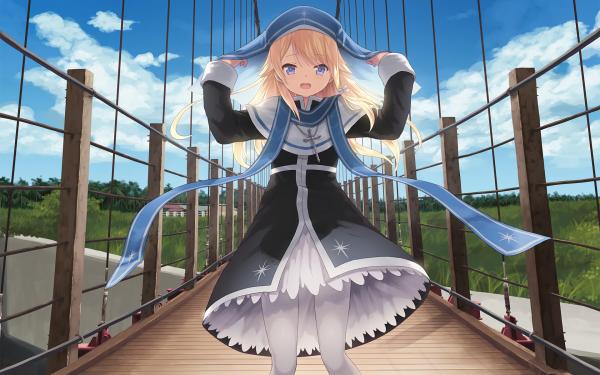 Anime Magi in Wanchin Basilica HD Wallpaper   Background Image
