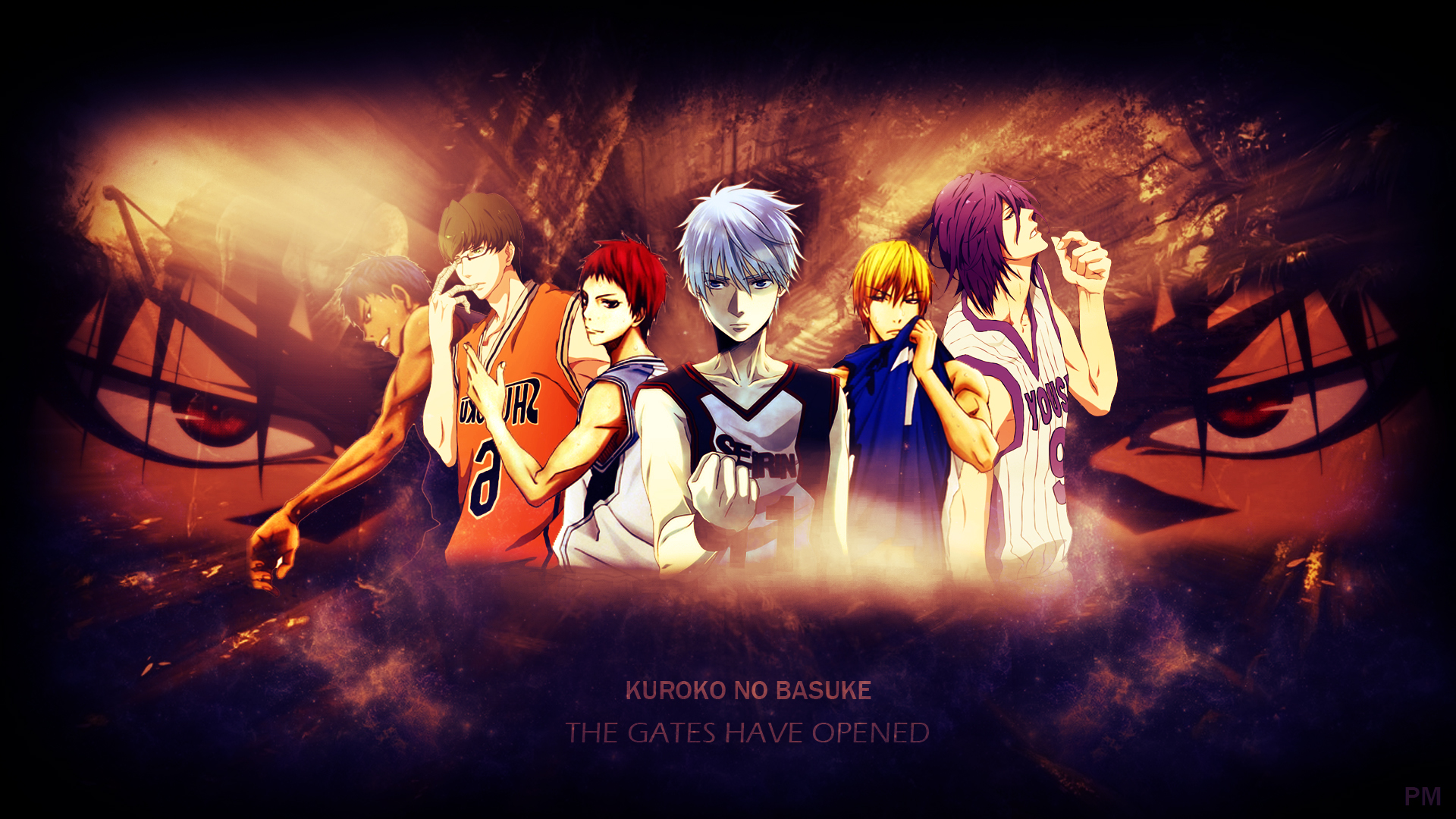 Kurokos Basketball HD Wallpaper