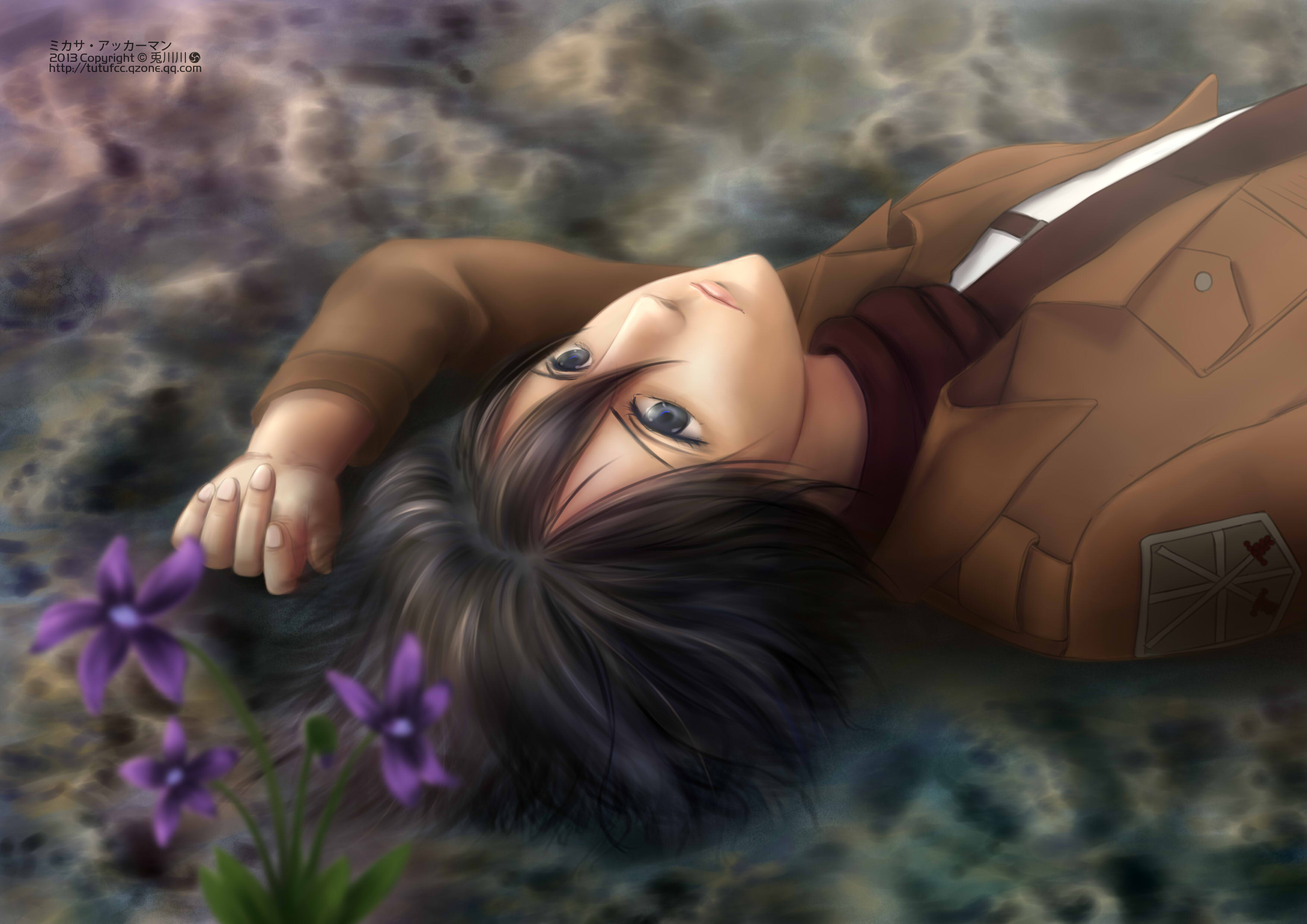 Attack On Titan Hd Wallpaper Background Image 3507x2480 Id 786280 Wallpaper Abyss