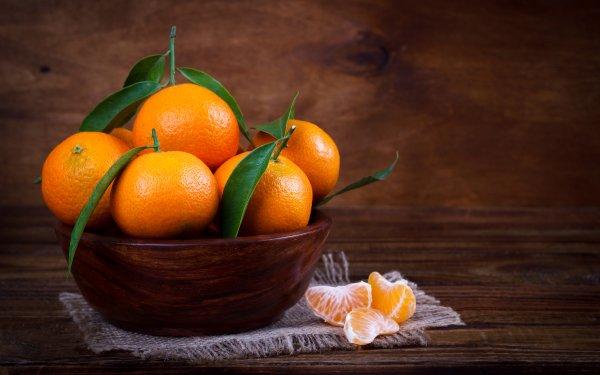 Food Mandarin Fruits Fruit HD Wallpaper   Background Image