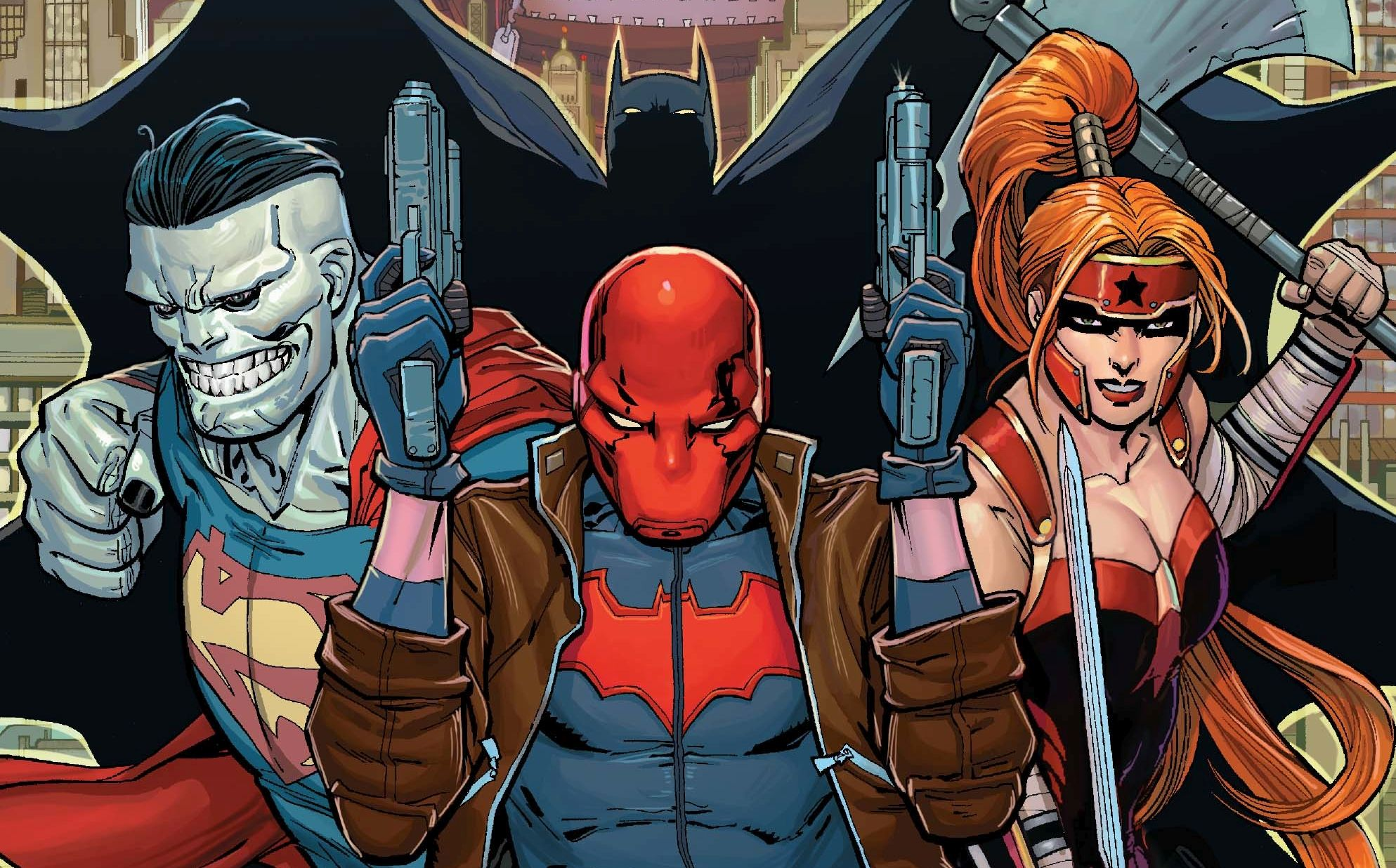 Red Hood and the Outlaws HD Wallpaper | Background Image ...