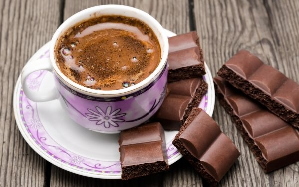 Food Coffee Cup Chocolate HD Wallpaper | Background Image