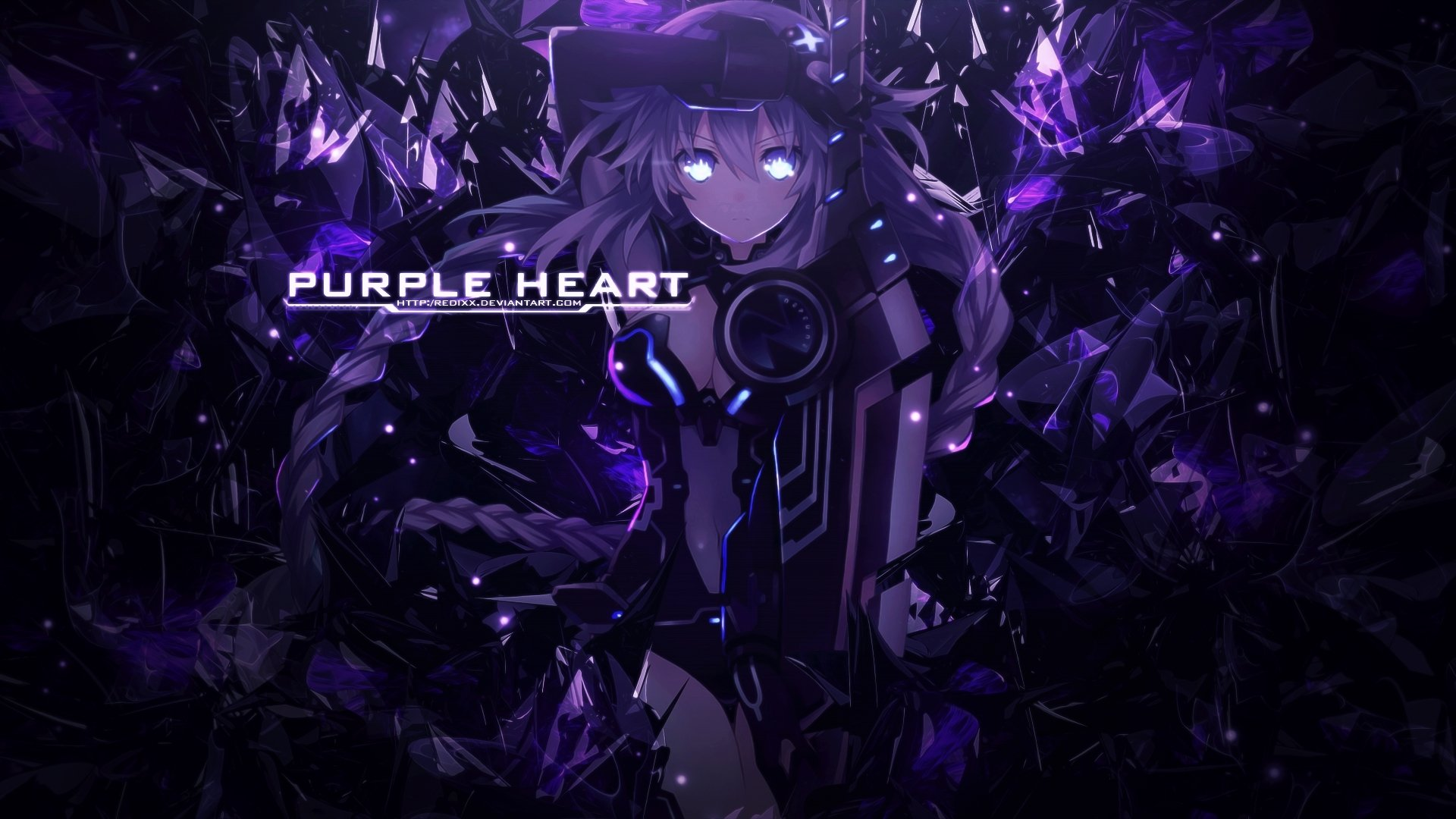Vídeo Game - Hyperdimension Neptunia  Papel de Parede