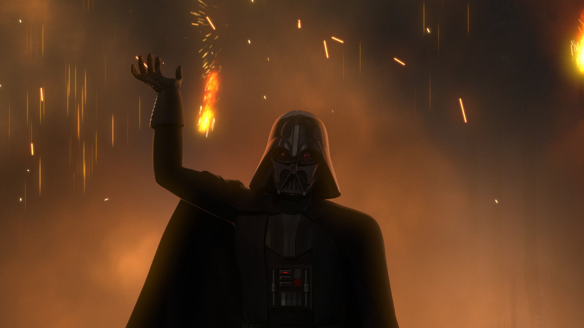 Televisieprogramma - Star Wars Rebels  Darth Vader Wallpaper