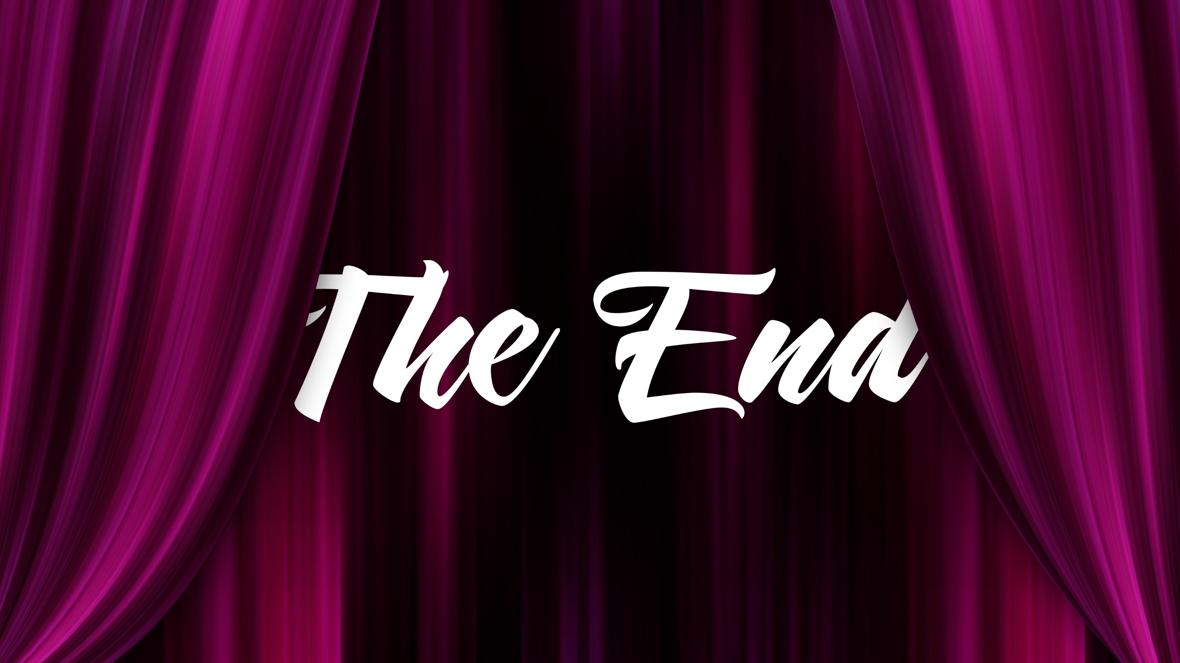 The End 4k Ultra HD Wallpaper And Background Image