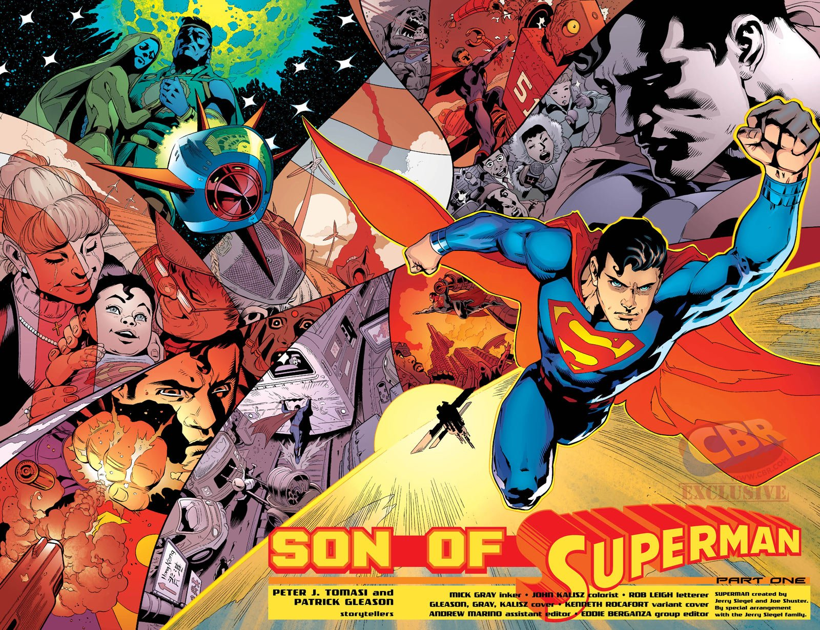 Comics - Son Of Superman  Superman Wallpaper