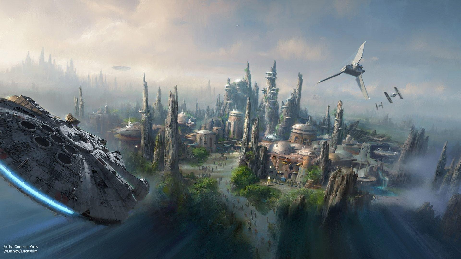 Movie - Star Wars  Millennium Falcon Wallpaper