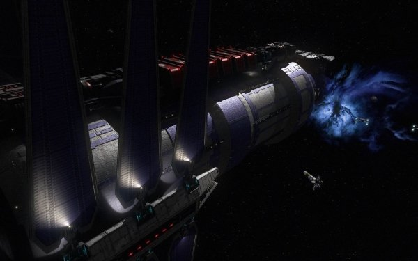 TV Show Babylon 5: In the Beginning Babylon 5 HD Wallpaper   Background Image