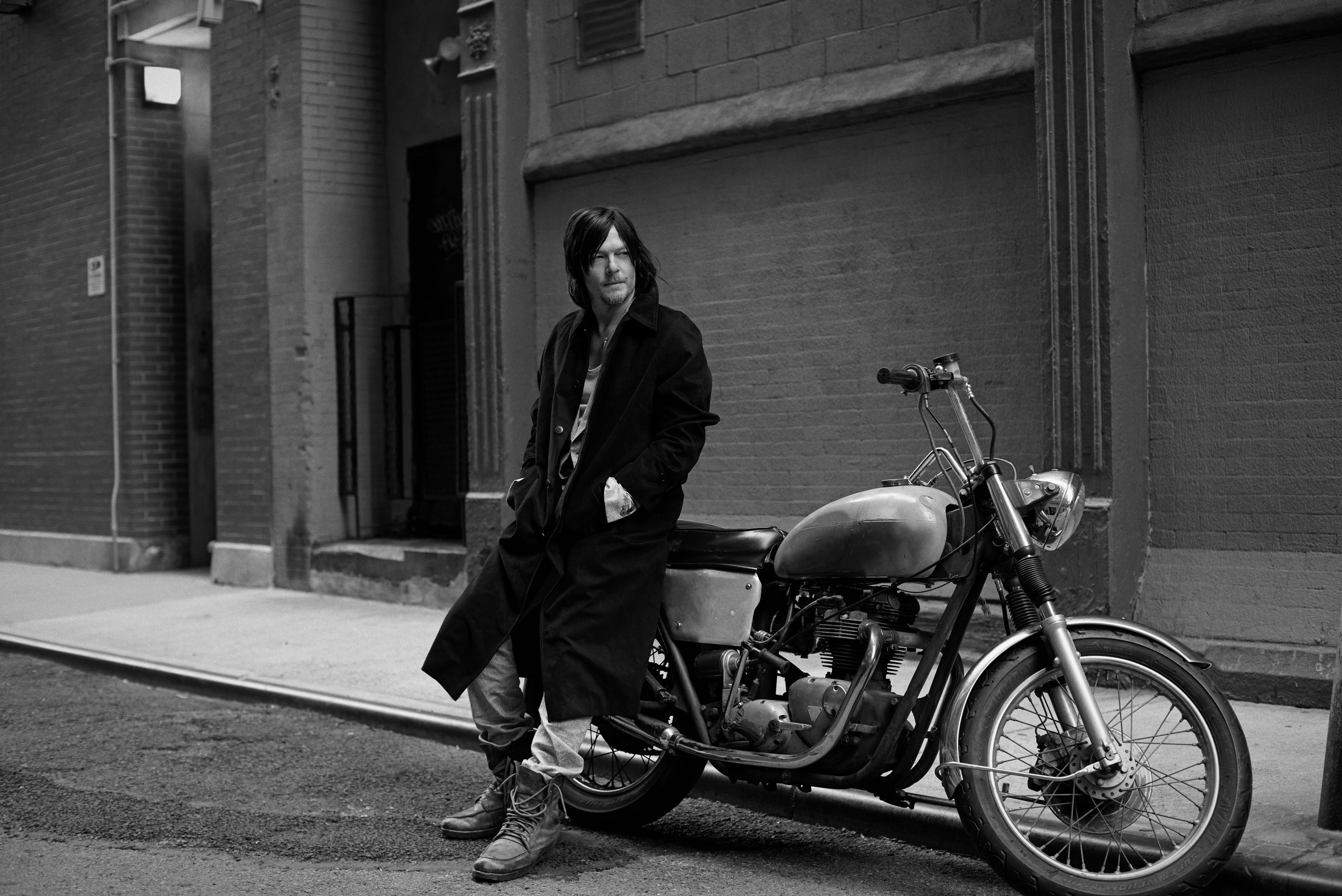 Norman Reedus Full HD Wallpaper And Background Image