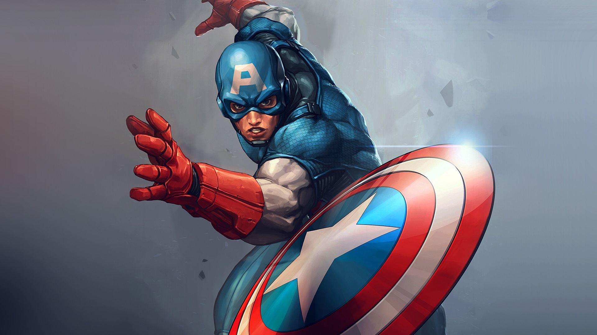 Captain America HD Wallpaper | Background Image | 1920x1080 | ID:793350 - Wallpaper Abyss