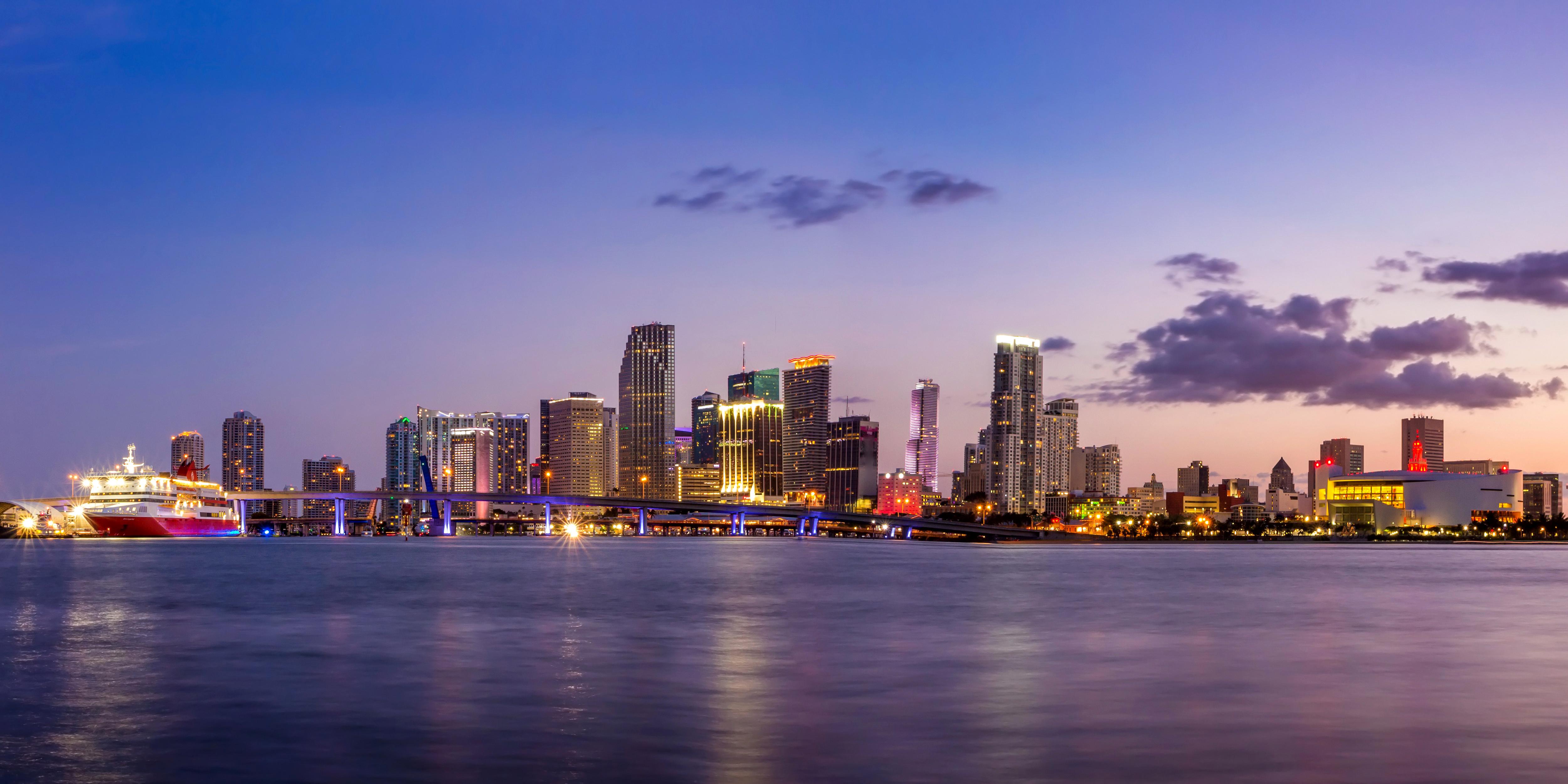 Miami 4k ultra hd wallpaper background image 5000x2500 id 793546 wallpaper abyss - Background images 4k hd ...