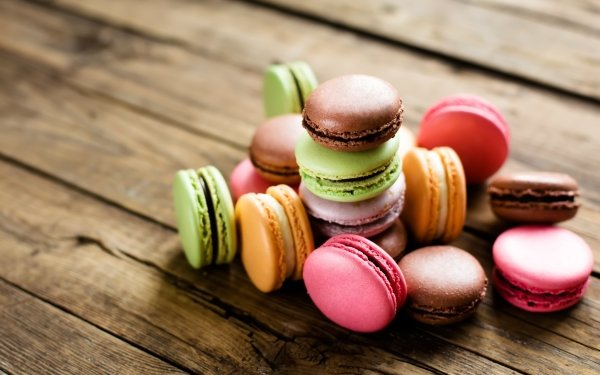 Food Macaron Sweets Colors HD Wallpaper | Background Image
