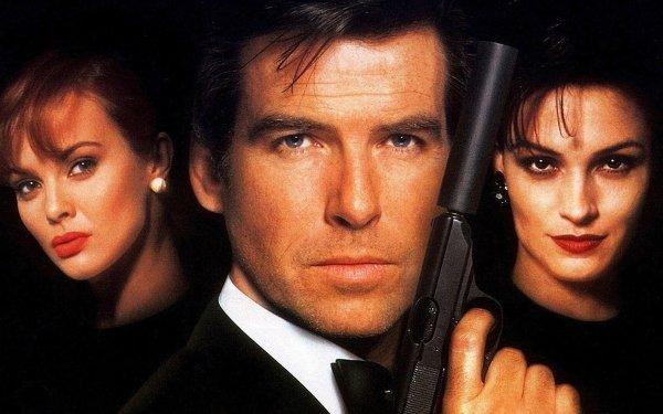 Movie GoldenEye James Bond Pierce Brosnan Famke Janssen Xenia Onatopp Natalya Simonova Izabella Scorupco HD Wallpaper   Background Image