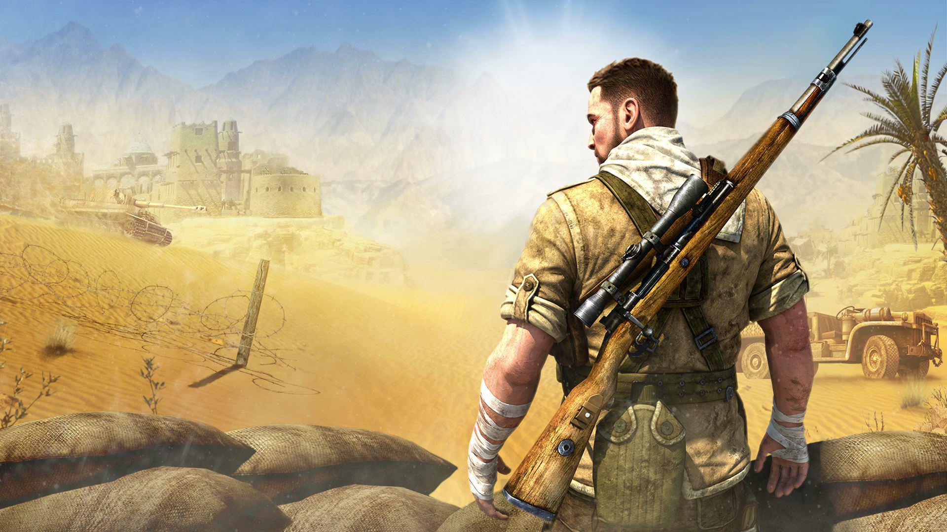 Sniper Elite 3 Wallpaper: Sniper Elite 3 HD Wallpaper