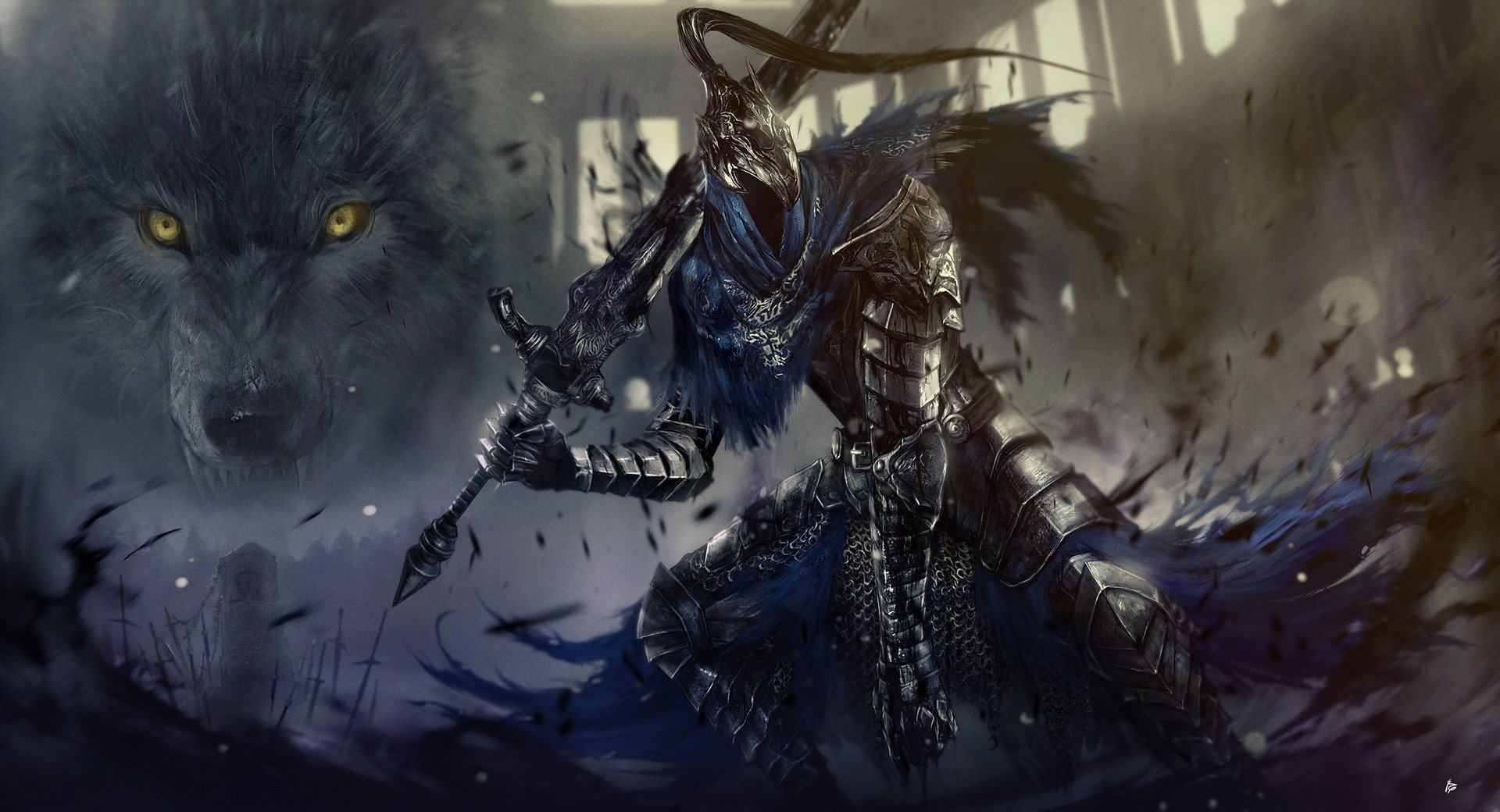 11 Artorias The Abysswalker Hd Wallpapers Background Images