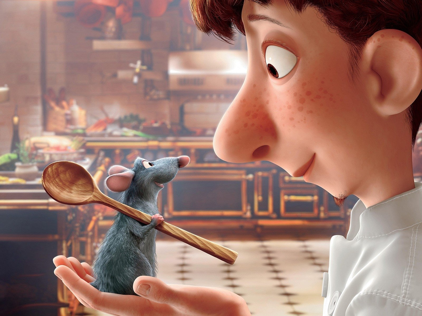 Ratatouille Remy And Alfredo Linguini Wallpaper And Background Image 1600x1200 Id 804635 Wallpaper Abyss