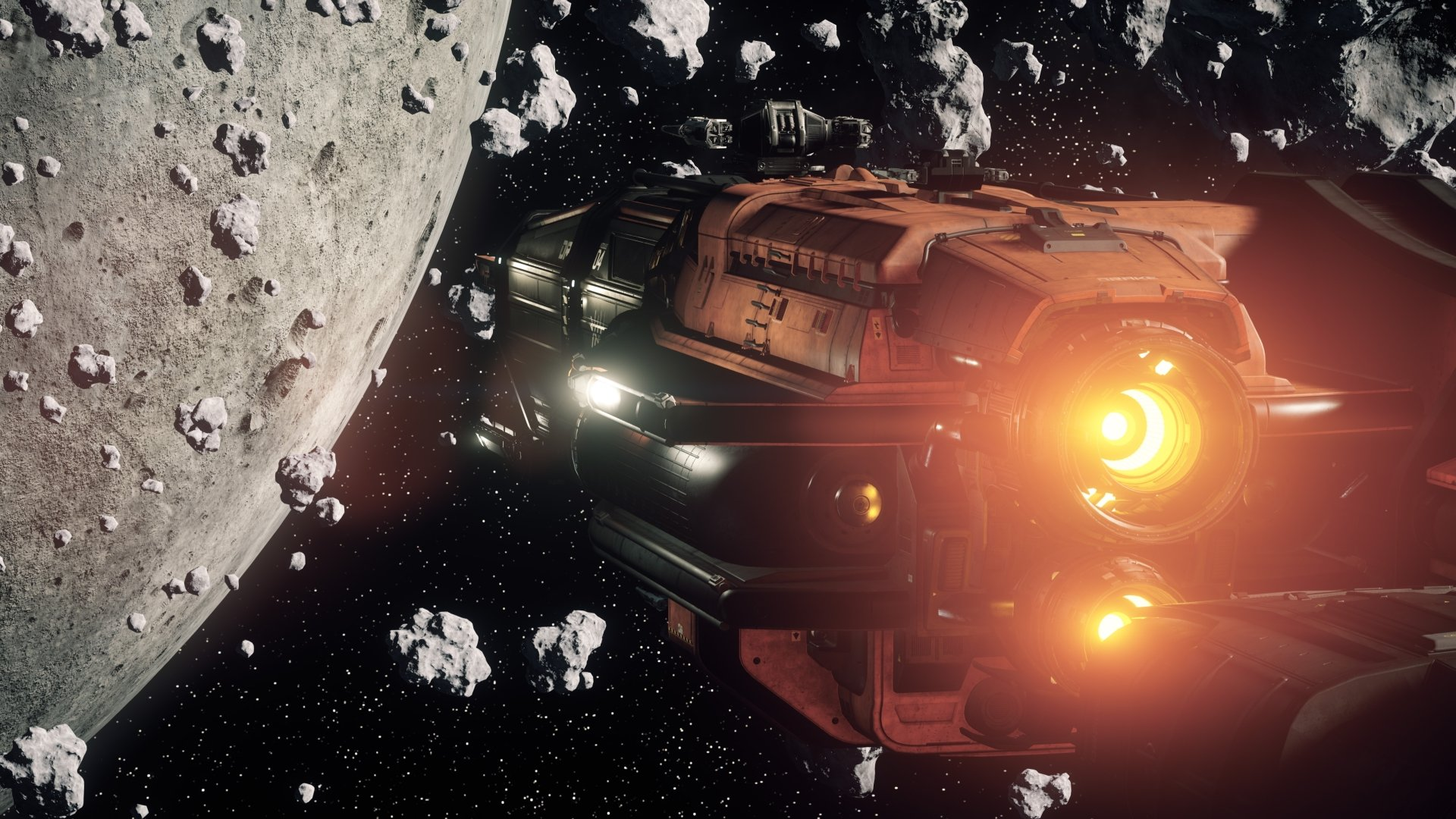 Video Game - Star Citizen  Spaceship Space Asteroid Wallpaper