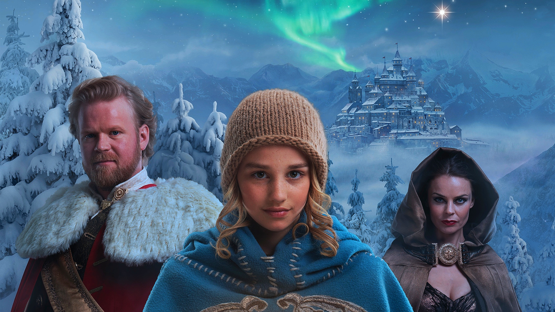 wallpapers id805848 - Journey To The Christmas Star Cast