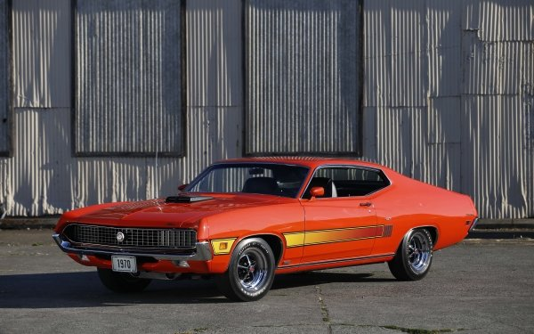 Vehicles Ford Torino GT Ford Ford Torino Cobra Muscle Car HD Wallpaper   Background Image