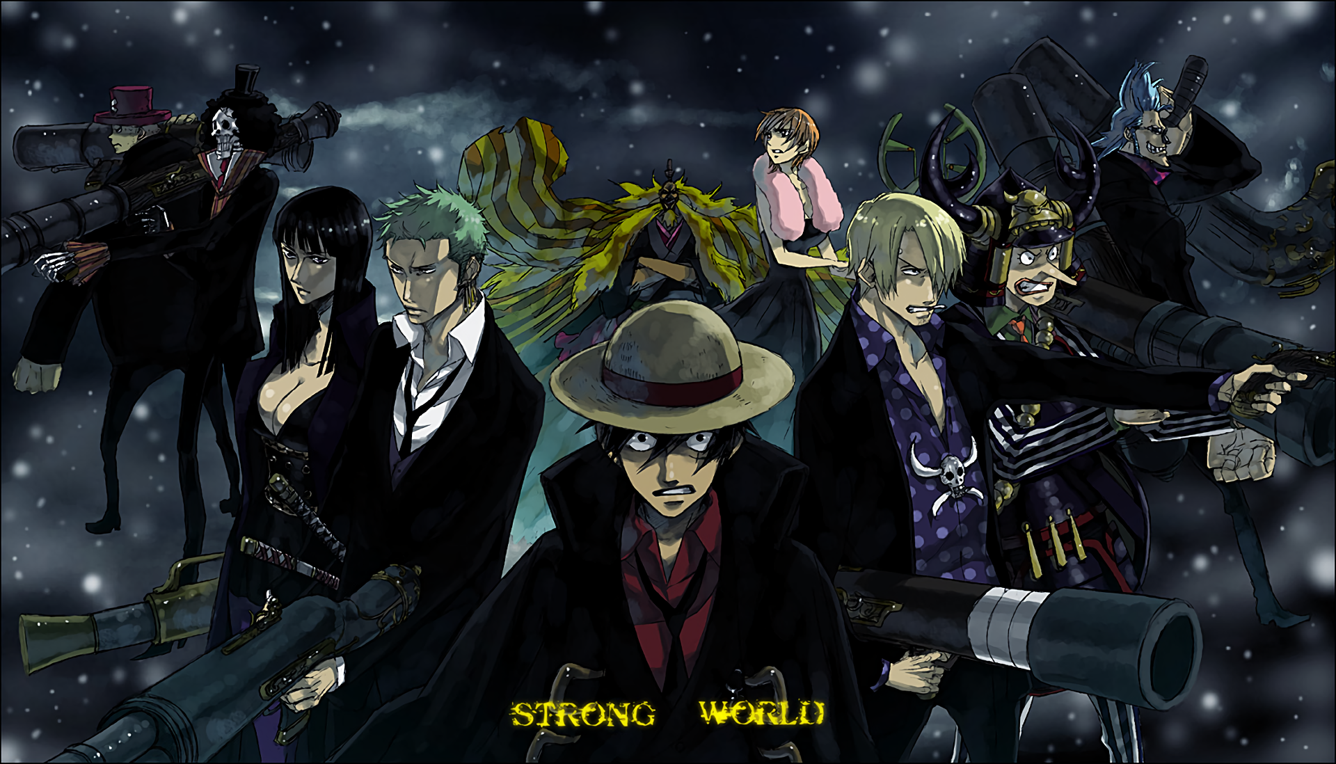 One Piece Hd Wallpaper Background Image 1920x1098 Id 807010