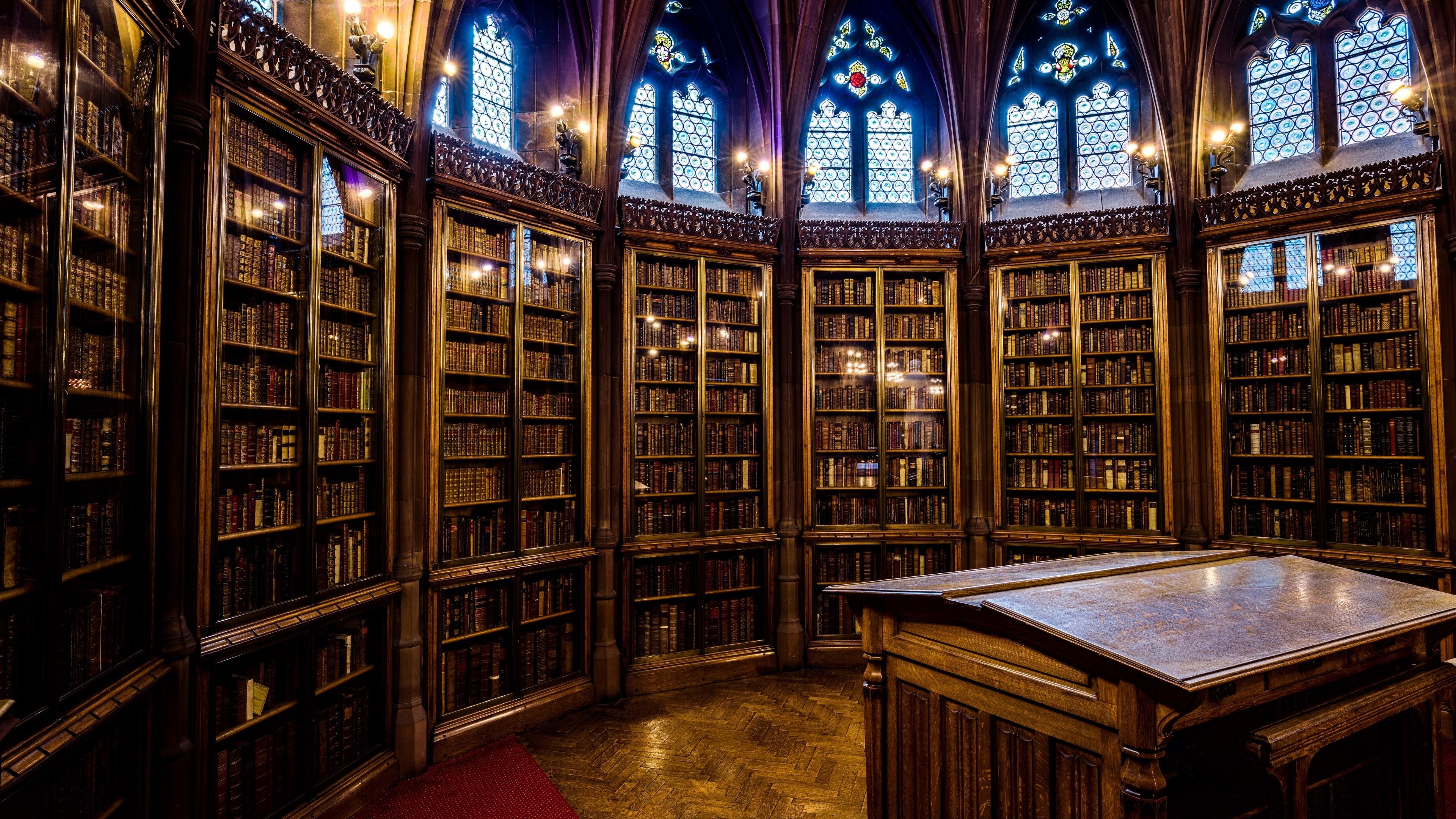 The John Rylands Library 4k Ultra HD Wallpaper