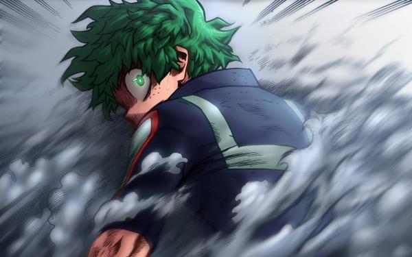 Anime My Hero Academia Izuku Midoriya HD Wallpaper | Background Image