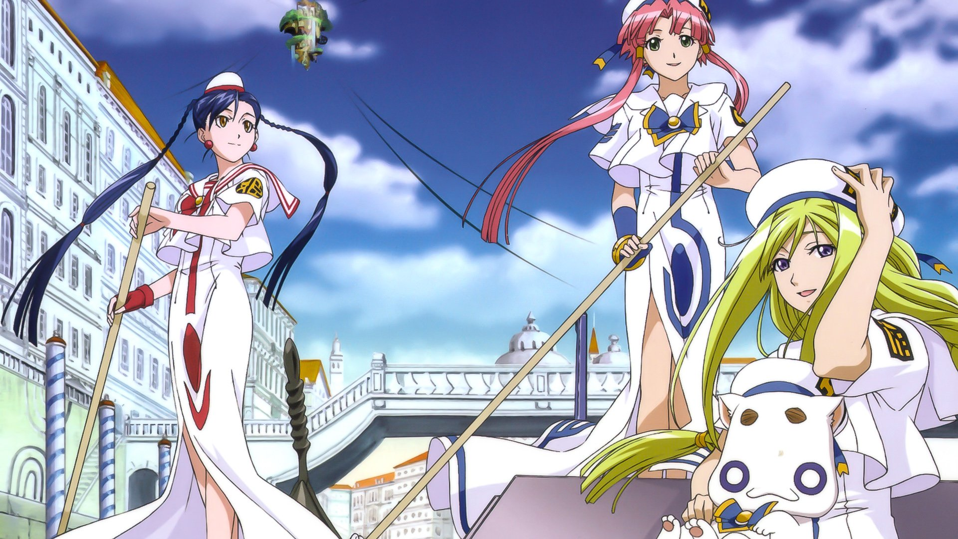 Aria The Animation Hd Wallpaper Background Image 1920x1080