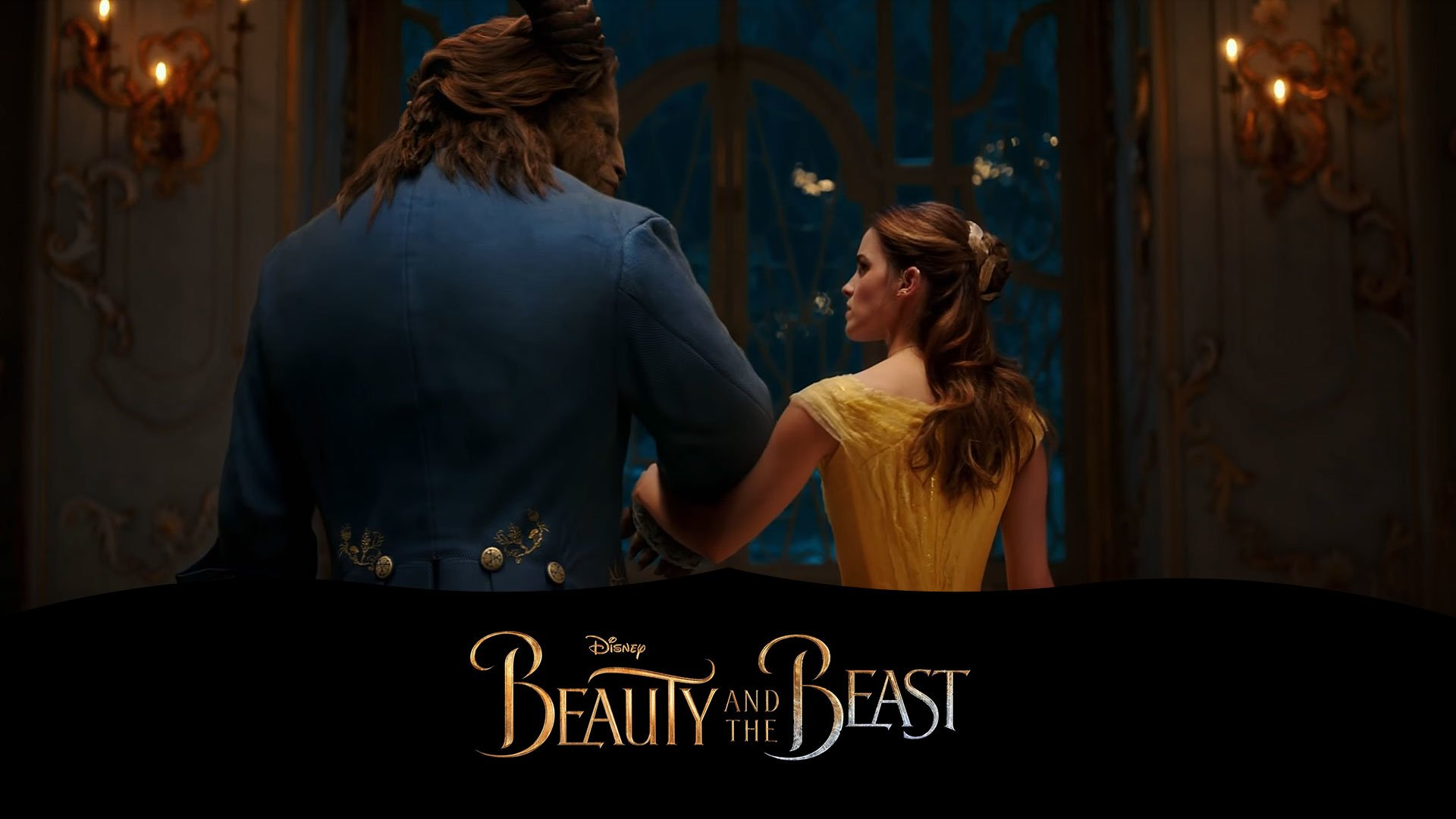 Beauty And The Beast 2017 Hd Wallpaper Background Image
