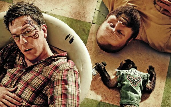 Movie The Hangover Part II Zach Galifianakis Ed Helms HD Wallpaper | Background Image