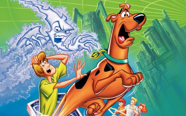 Movie Scooby-Doo and the Cyber Chase Scooby-Doo Shaggy Rogers Velma Dinkley Fred Jones Daphne Blake HD Wallpaper | Background Image